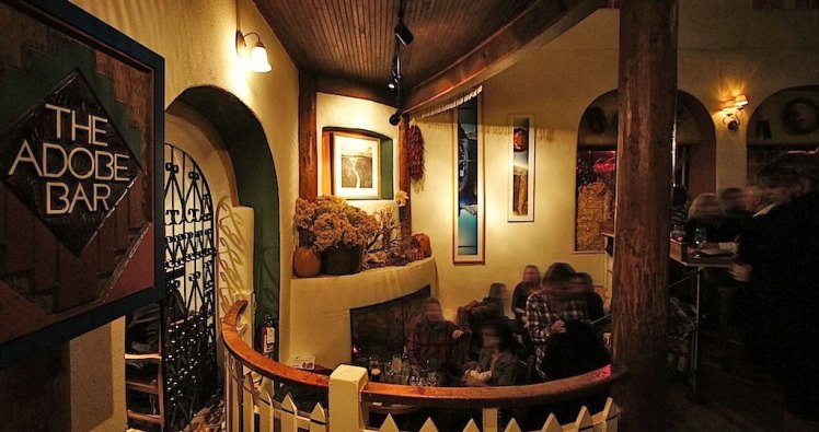 The Adobe Bar, Taos NM   Enchanted New Mexico