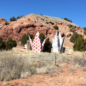 Turquoise Trail Sculpture Garden | Enchanted New Mexico