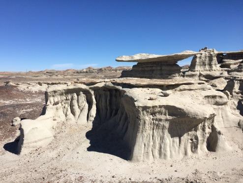Tortilla rock, Bisti/De-Na-Zin | Enchanted New Mexico